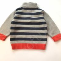 Szürke kisfiú pulóver (74)
