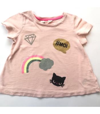 H&M kislány póló (98-104)
