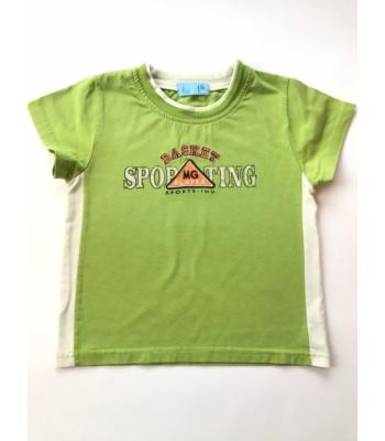 Zöld kisfiú póló (122)