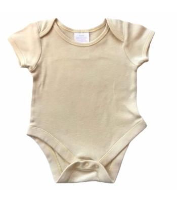 Halványsárga kislány body (62)