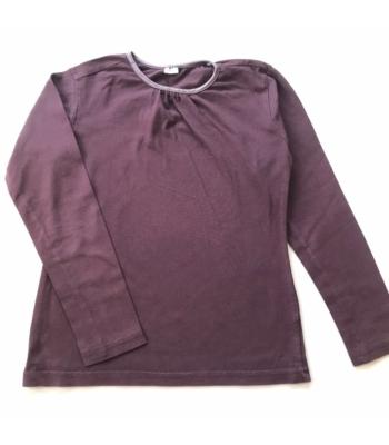 Sötétlila kislány pulóver (122-128)