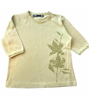 Halványzöld kislány póló (116-128)