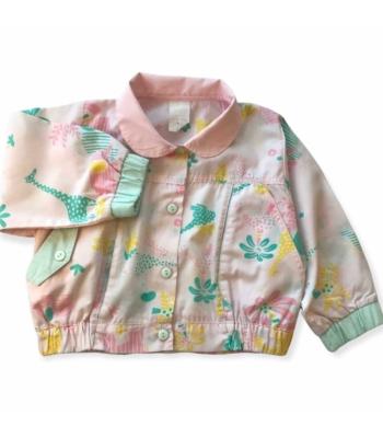 Tavaszi kislány kabát (80-86)