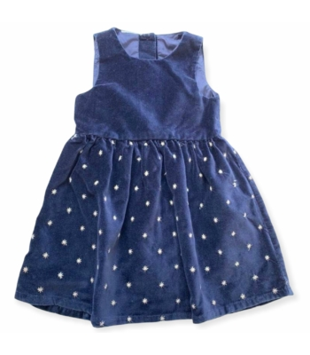 Plüss kislány ruha (80-86)
