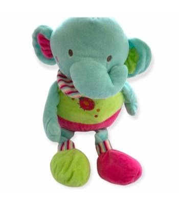 Elefánt plüss játék