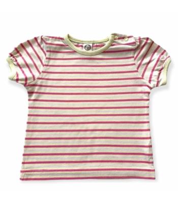 Csíkos kislány póló (80)