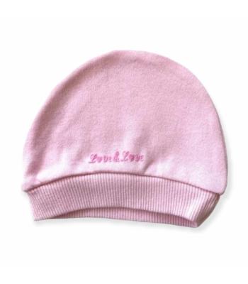 Rózsaszín kislány sapka (56)