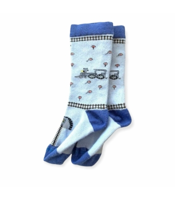 Vonatos kisfiú zokni (56-68)