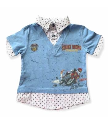 Ikra kisfiú póló (98)