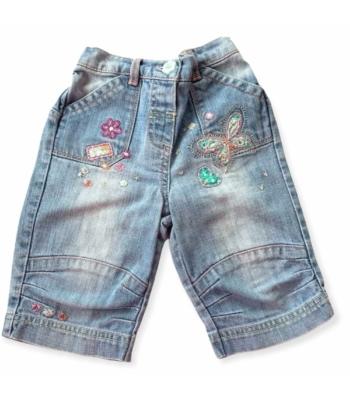Next kislány farmer rövid nadrág (86)