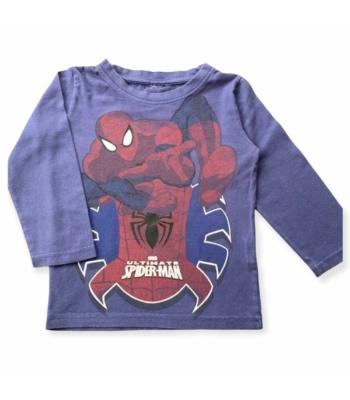 Pókemberes kisfiú pulóver (110-116)