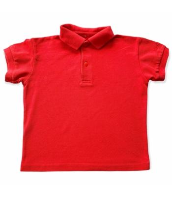 Piros kisfiú póló (98)