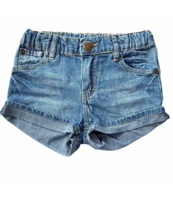 H&M kislány farmer rövid nadrág (80)