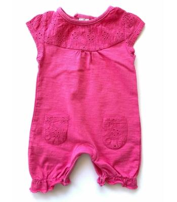 Pink kislány napozó (50-56)