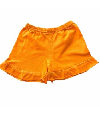 Narancssárga kislány rövid nadrág (62-68)