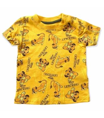 Primark Oroszlánkirály kisfiú póló (80)