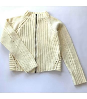 Kötött kislány pulóver (128)