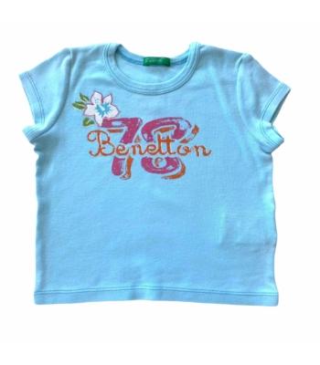Benetton kislány póló (80-86)