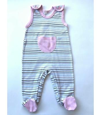 Csíkos kislány rugdalózó (68)