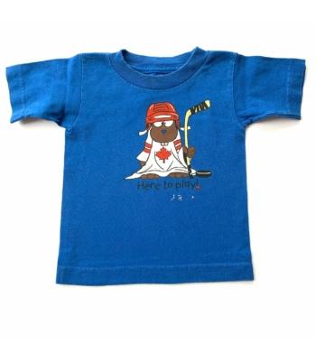 Kék kisfiú póló (80)