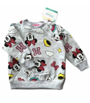 Disney Baby Minnie kislány pulóver (68-74)