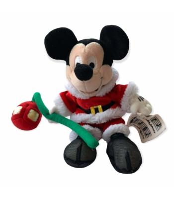 Mikulás ruhás Mickey egér