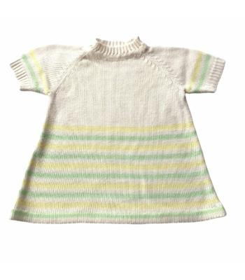 Kötött kislány ruha (80-86)