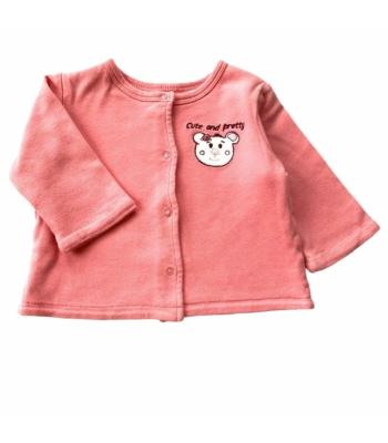 Kifordítható kislány pulóver (62-68)