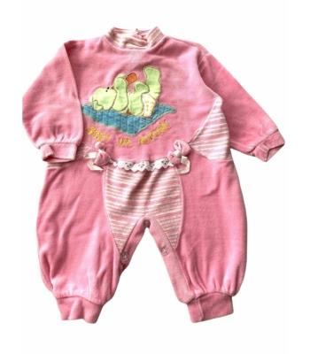 Rózsaszín kislány rugdalózó (74-80)