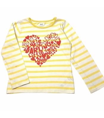 F&F kislány pulóver (116)