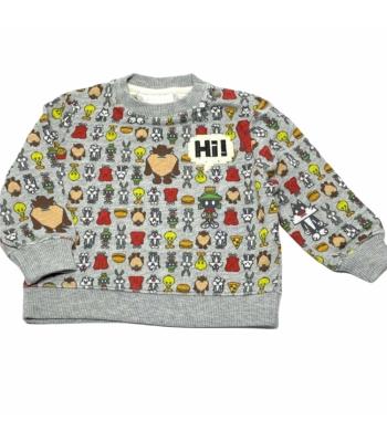 Zara Looney Tunes kisfiú pulóver (74)