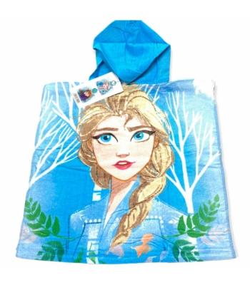 Disney Frozen kislány poncsó