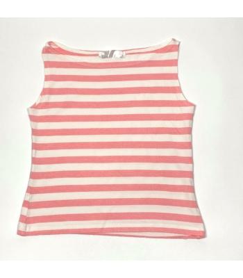 Csíkos kislány trikó (104-110)