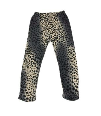 Leopárd mintás kislány térd leggings (104)