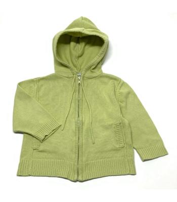 Zöld kislány kardigán (68)