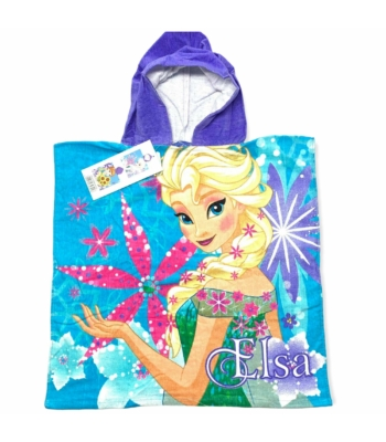 Disney Frozen Elsa és Anna kislány poncsó