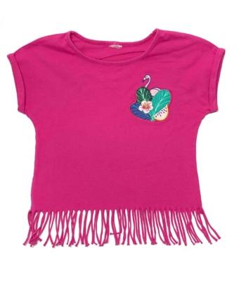 Flamingós kislány póló (116-122)