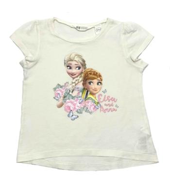 H&M Elsa és Anna kislány póló (110-116)