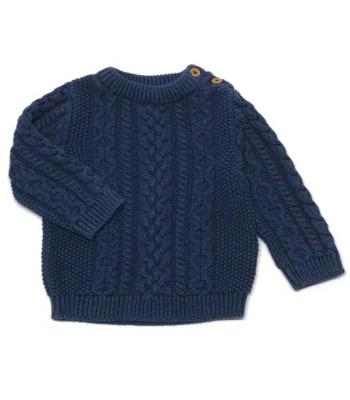 John Lewis kisfiú pulóver (62-68)