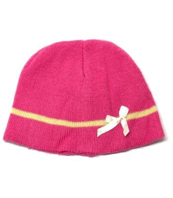 Pink kislány sapka (116-122)