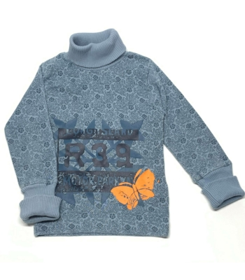 Mintás kislány pulóver (98-104)