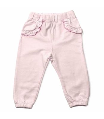 Halványrózsaszín kislány nadrág (80)