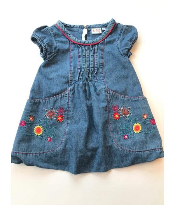 NonStop kislány farmer ruha (80-86)