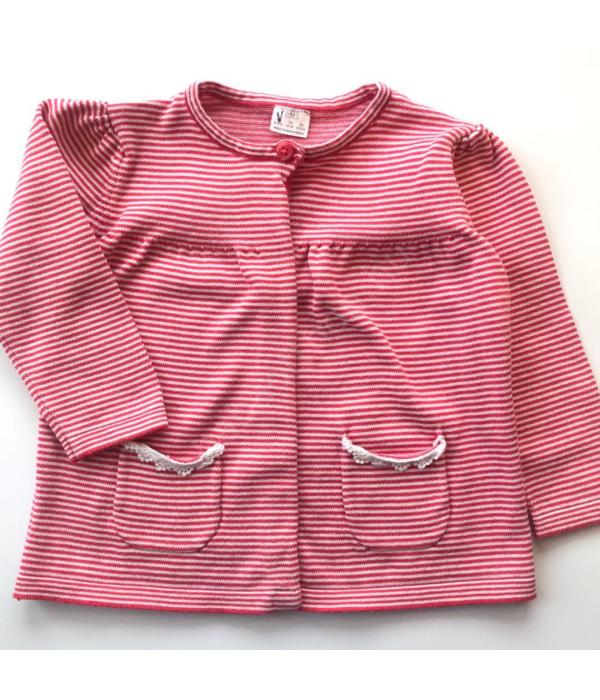 F&F kislány pulóver (80)