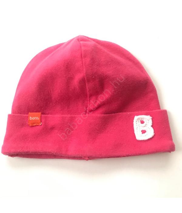 Rózsaszín kislány sapka (50-56)