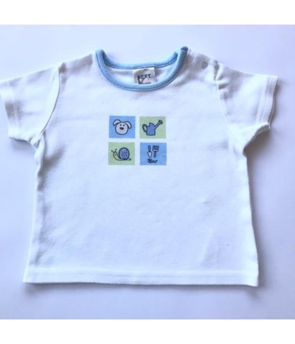 Next kisfiú póló (50-56)