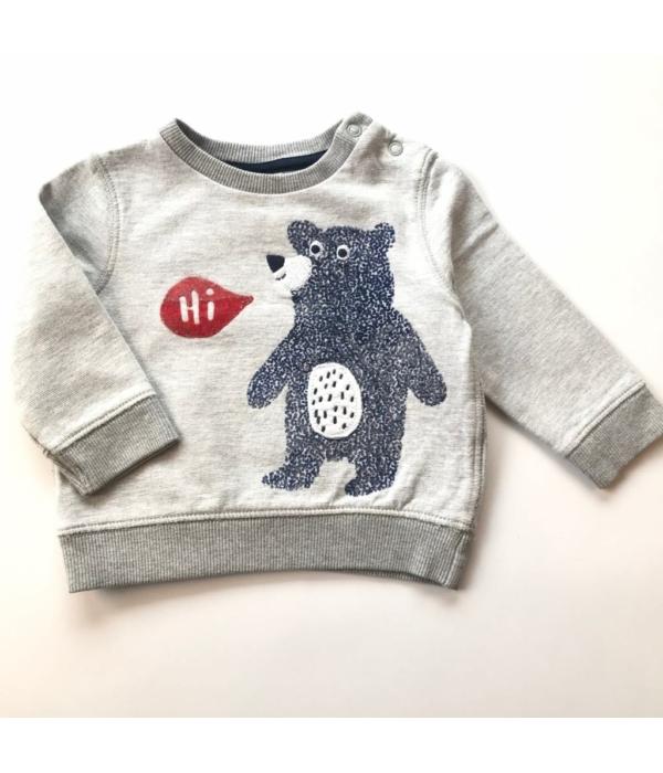 F&F kisfiú pulóver (68-74)