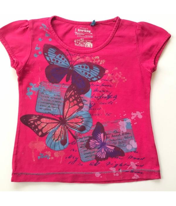 Pillangós kislány póló (80-86)
