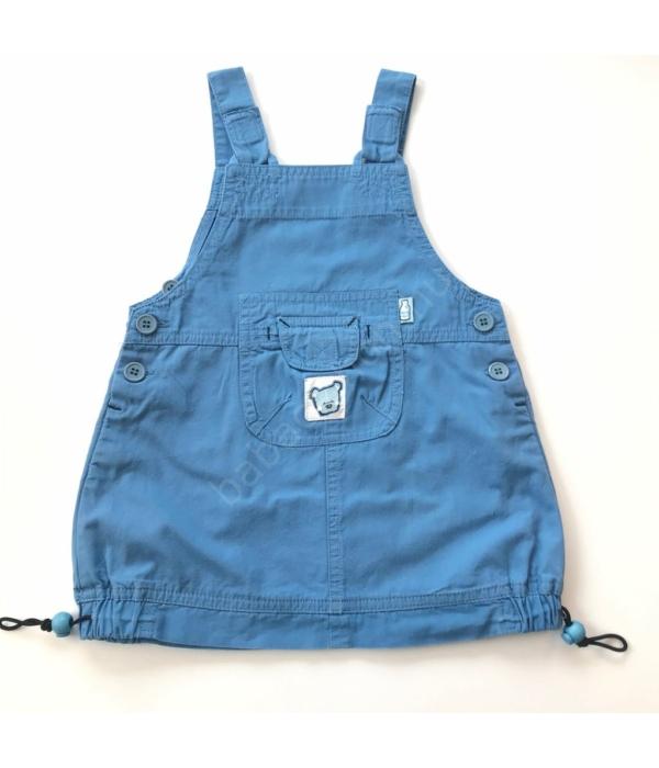Kék kislány ruha (80)
