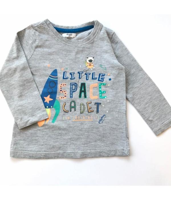 Rakétás kisfiú pulóver (80)